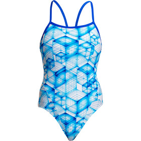 Funkita Single Strap One Piece Badpak Dames, galactica